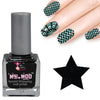 Nail art polish 15 ml BLACK