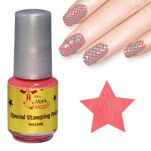 Nail art polish 5 ml CORAL
