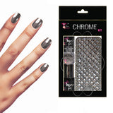 DELUXE SILVER CHROME NAILS KIT