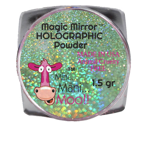 Magic Mirror NUDE holographic powder