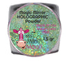 Magic Mirror LIME GREEN holographic powder