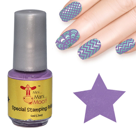 Nail art polish 15 ml LAVENDER