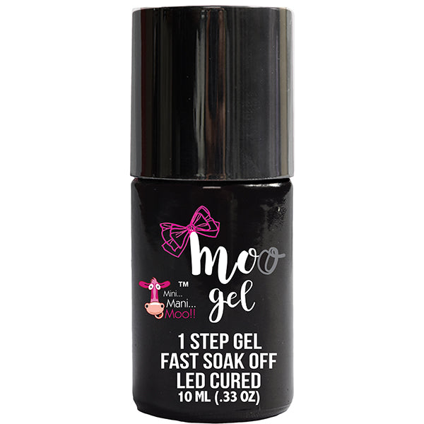 MOO GEL™ 1 STEP GEL -BLACK