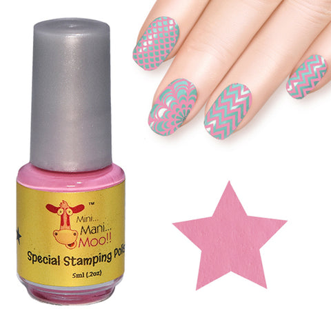 Nail art polish 5 ml PINK