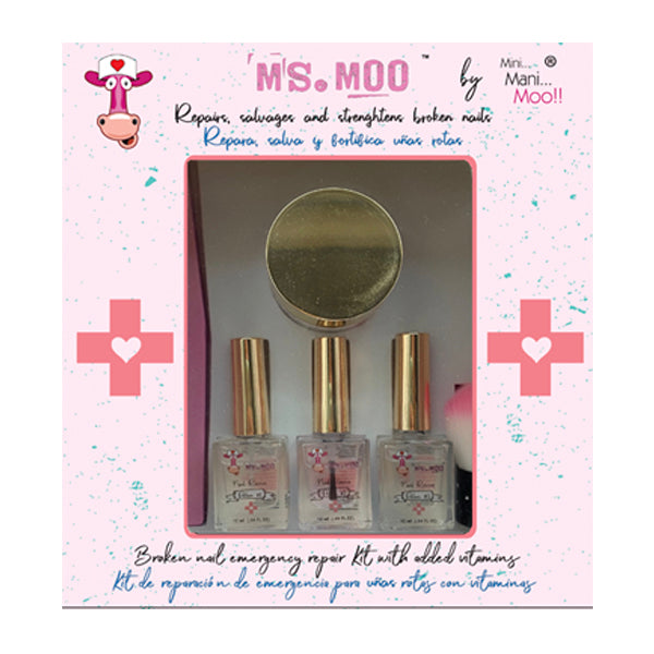 Ms. Moo Emergency Nail repair Kit