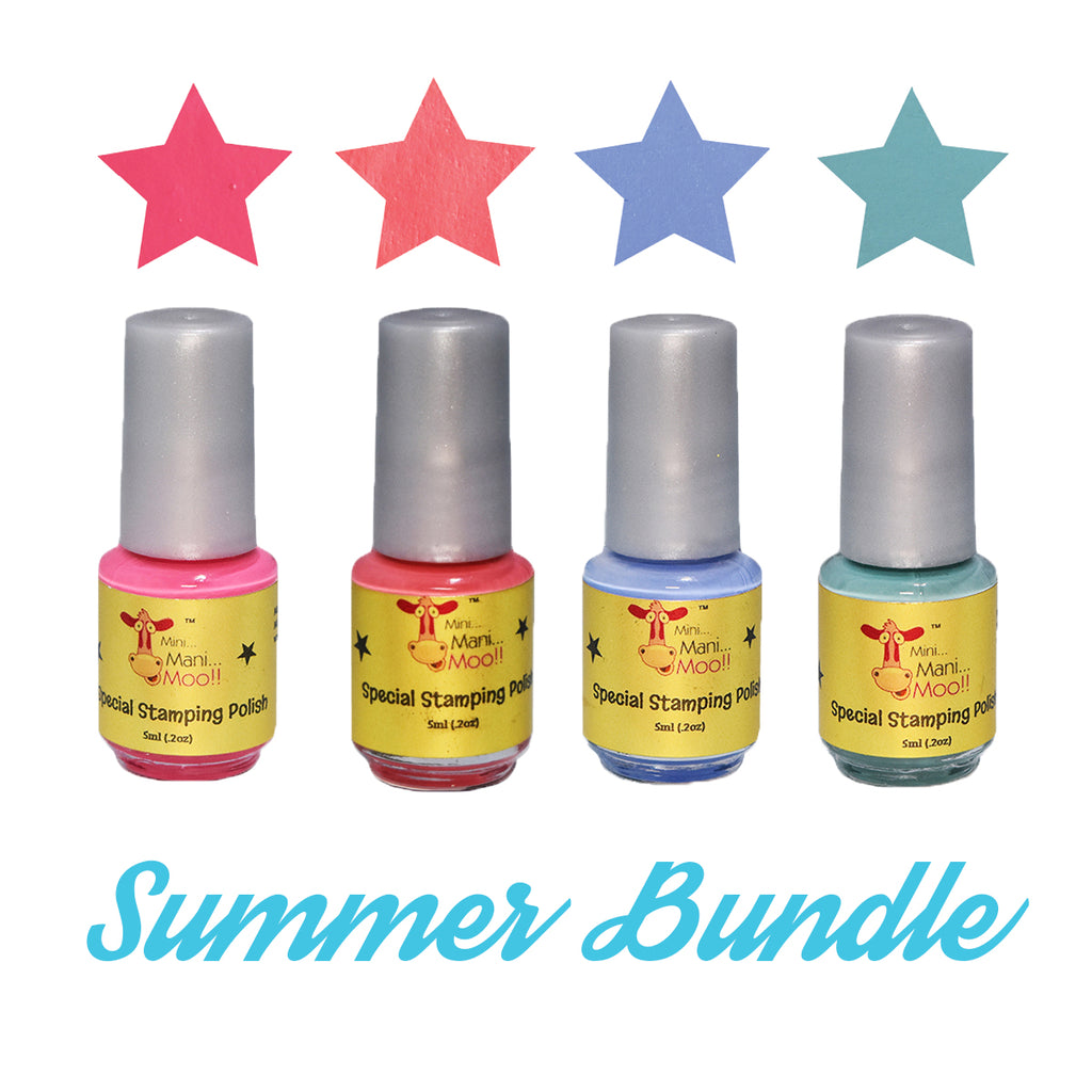 Summer Bundle Stamping Polish