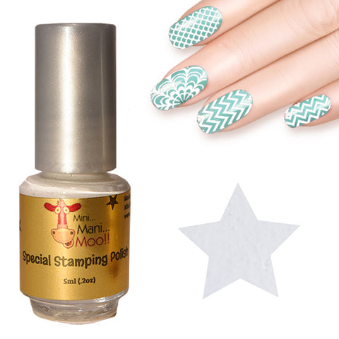 Nail art polish 5 ml SILVER
