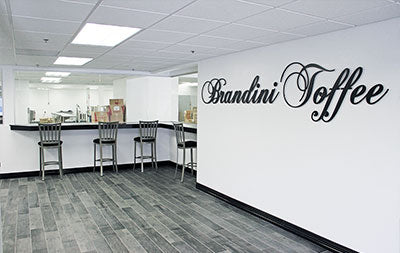 Brandini Toffee Shop and Factory in Rancho Mirage
