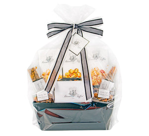 Brandini Toffee - Large Basket with Black Ribbon