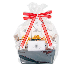 Brandini Toffee - Large Basket with Red Ribbon