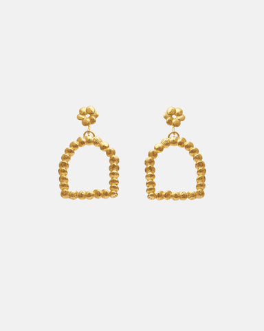 ARCH EARRINGS - GOLD