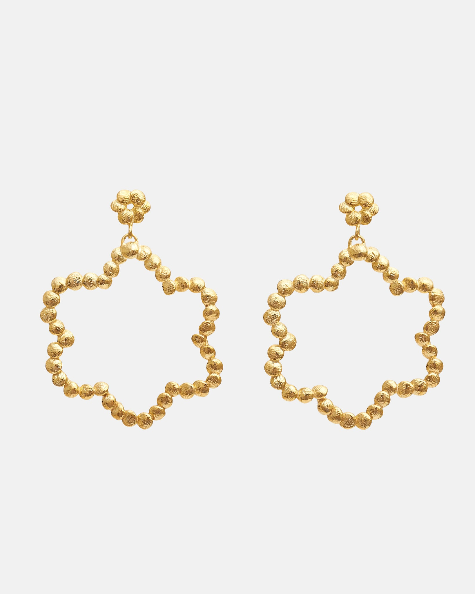 FLORET EARRINGS - GOLD