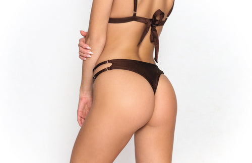 Alexa Thong Bottom Cinnamon