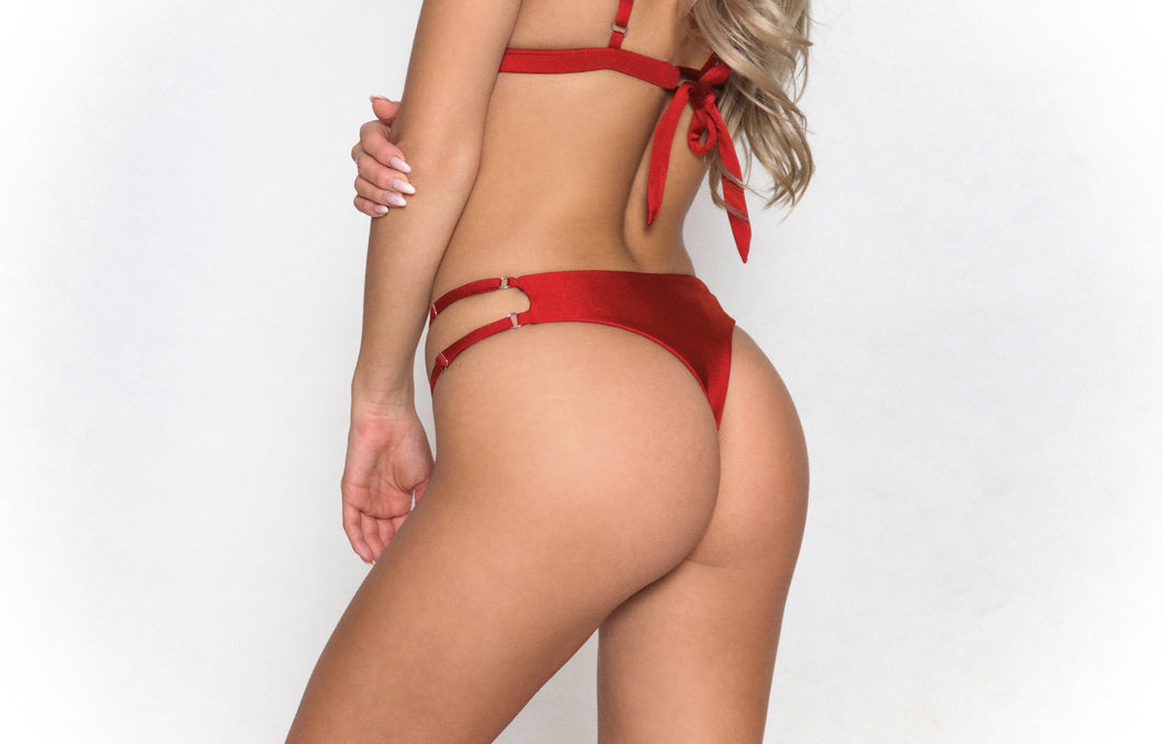 Alexa Thong Bottom Red