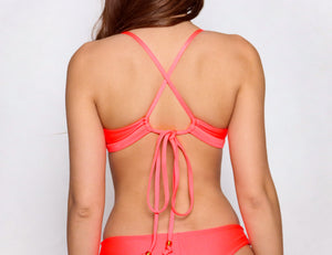 Hana Top Neon Orange