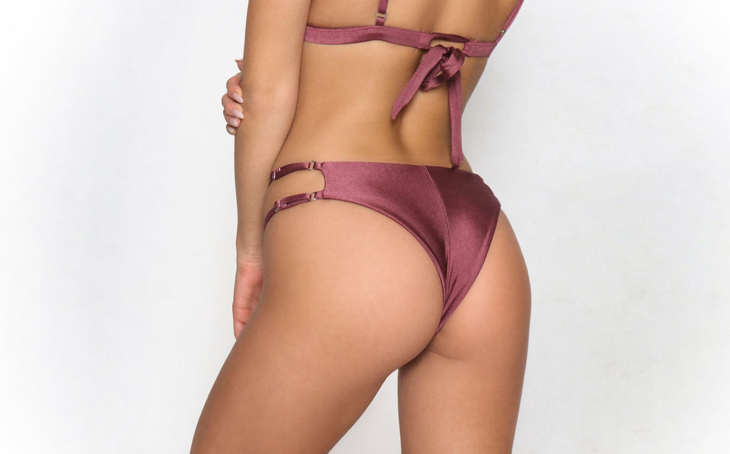 Michaela Bottom Purple