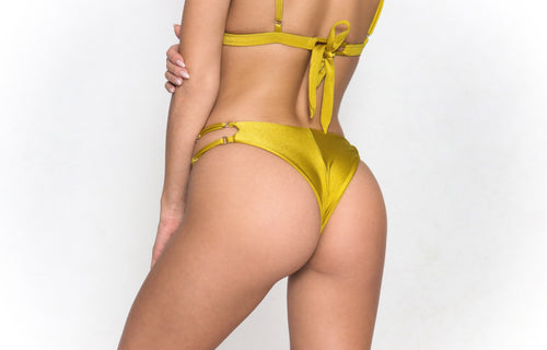 Michaela Bottom Yellow
