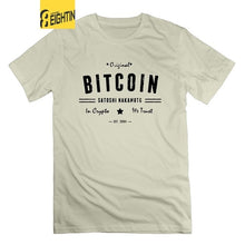 Bitcoin Original Satoshi Crypto Cryptocurrency 100% Cotton Fun T-Shirts Crew Neck Tees Short Sleeve Man's T Shirts  - Crypto Kicks