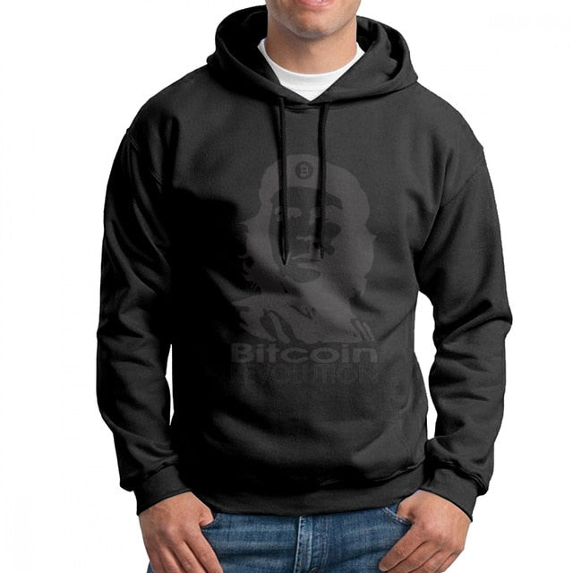 Bitcoin Revolution Ernesto Guevara Che Guevara Men's Sweatshirt Hipster Pure Cotton Hoodies Wholesale Hooded Tops  - Crypto Kicks