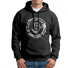 Creative Hoodie Man Bitcoin Cryptocurrency Purified Cotton Sweatshirt Original Hooded Tops  - Crypto Kicks