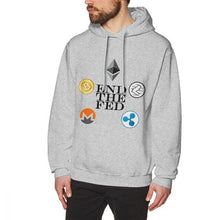 Ethereum Litecoin Bitcoin Sweatshirt MenMan Harajuku  Crewneck Ripple Hoodies BONADIAO New Arrival Fashionable  - Crypto Kicks