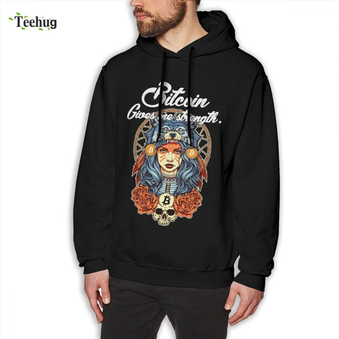 Man's 3D Print Modern Bitcoin Shaman Sweatshirt Novelty Streetwear For Boy  - Crypto Kicks
