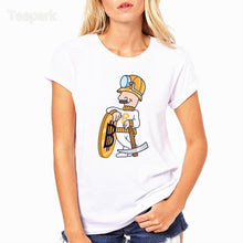 Miner bitcoin Funny Fashion Summer Women T-shirt tops Short Sleeve Tops Clothing O-neck T shirt For Women HWP4203  - Crypto Kicks