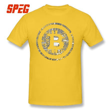 T Shirts Bitcoin Cryptocurrency Cyber Currency Financial Revolution T-Shirt Plain Youth Round Collar Short Sleeve Tee Shirts  - Crypto Kicks
