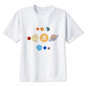 cryptocurrency New Fashion Mens 2019 Short T Shirt o-Neck Men T-Shirt Personality Top Tee Shirt Male Hip Hop T Shirts Q1427  - Crypto Kicks