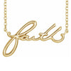 Faith Necklace - LaRo Jewelers