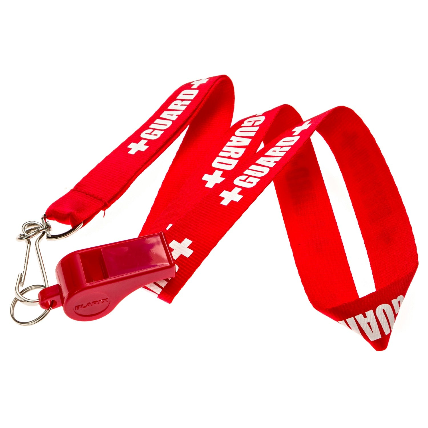Lifeguard Pea Whistle and Printed Lanyard - BLARIX