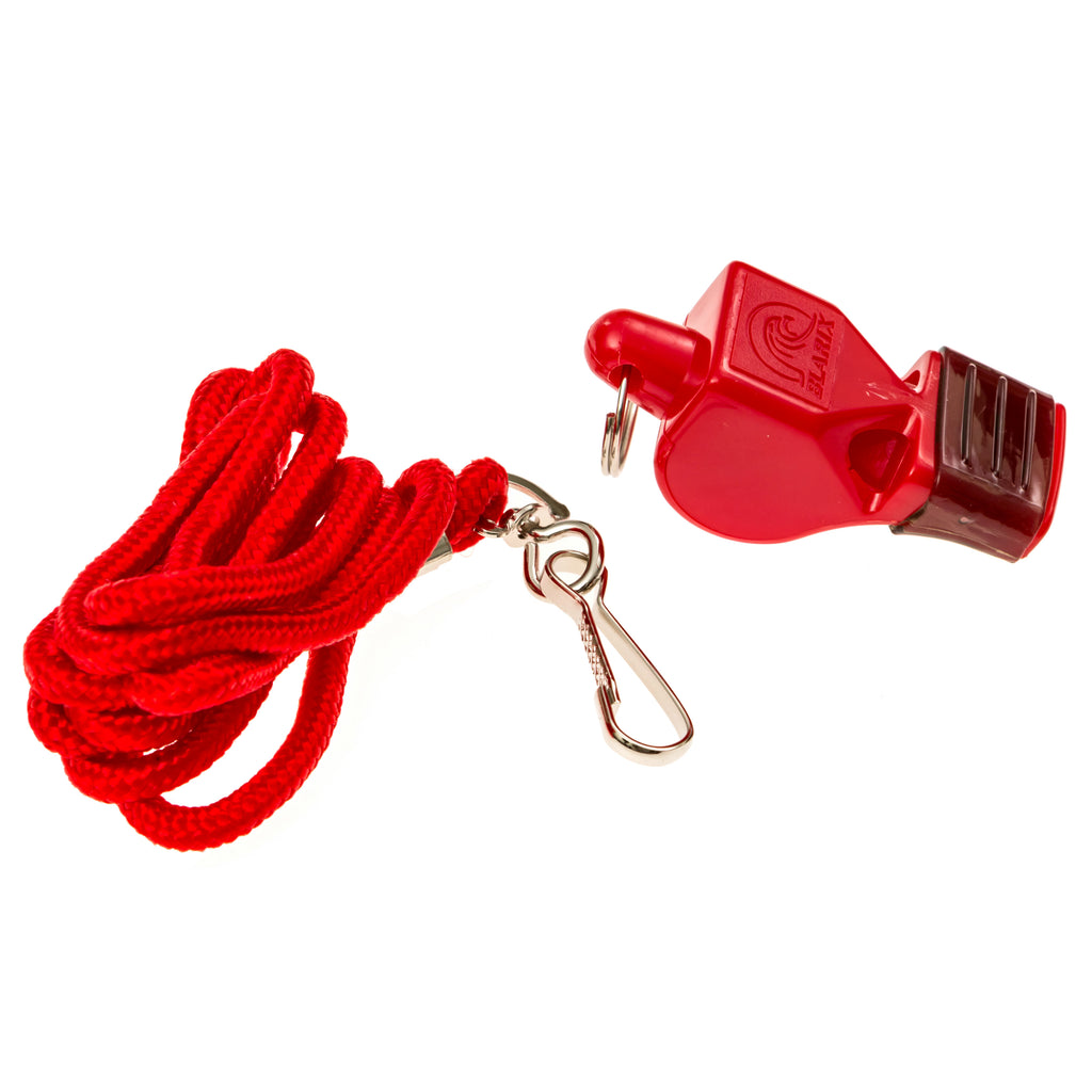 Lifeguard CMG Whistle and Lanyard - BLARIX