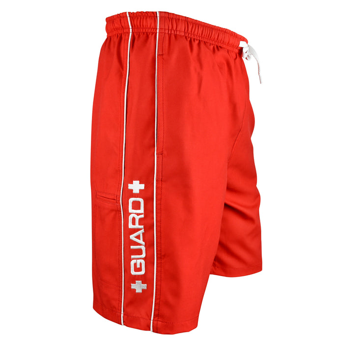 Lifeguard Men's Piped Swim Trunks - BLARIX