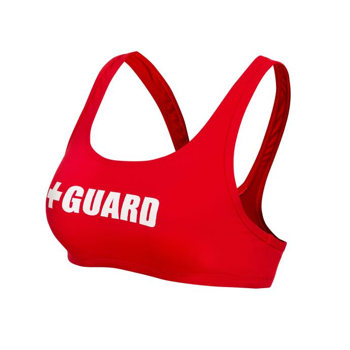 Lifeguard Swimsuit Wide Strap Top - BLARIX