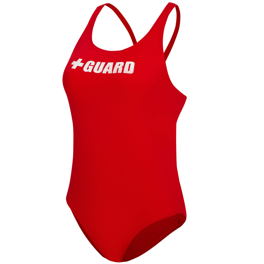 Lifeguard Swimsuit Wide Strap w/Shelf Bra 1pc - BLARIX