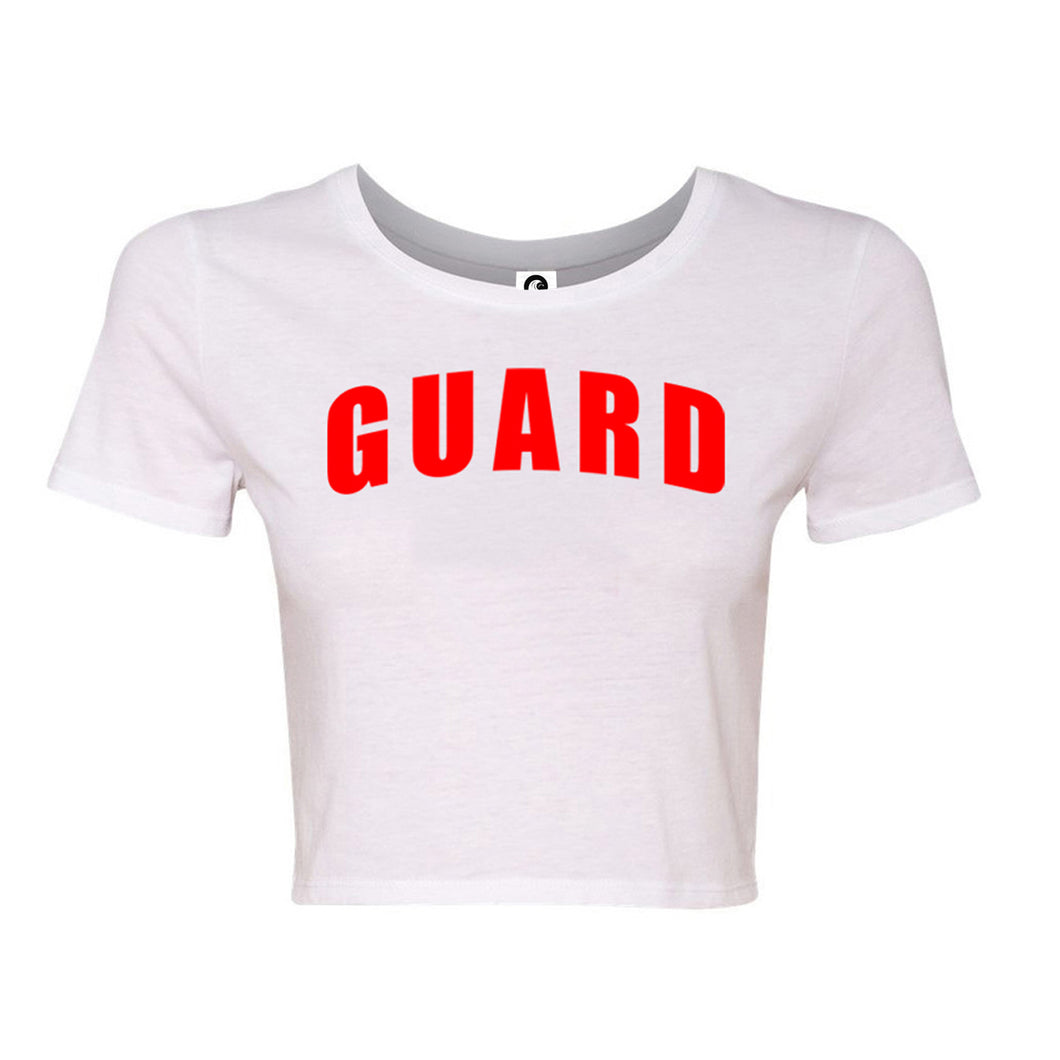 Lifeguard Women's Crop Shirt - BLARIX