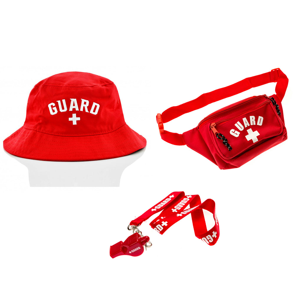 Lifeguard Costume Accessories Kit - BLARIX