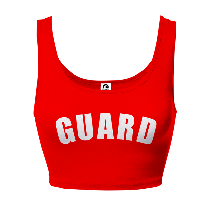 Lifeguard Women's Crop Tank Top - BLARIX