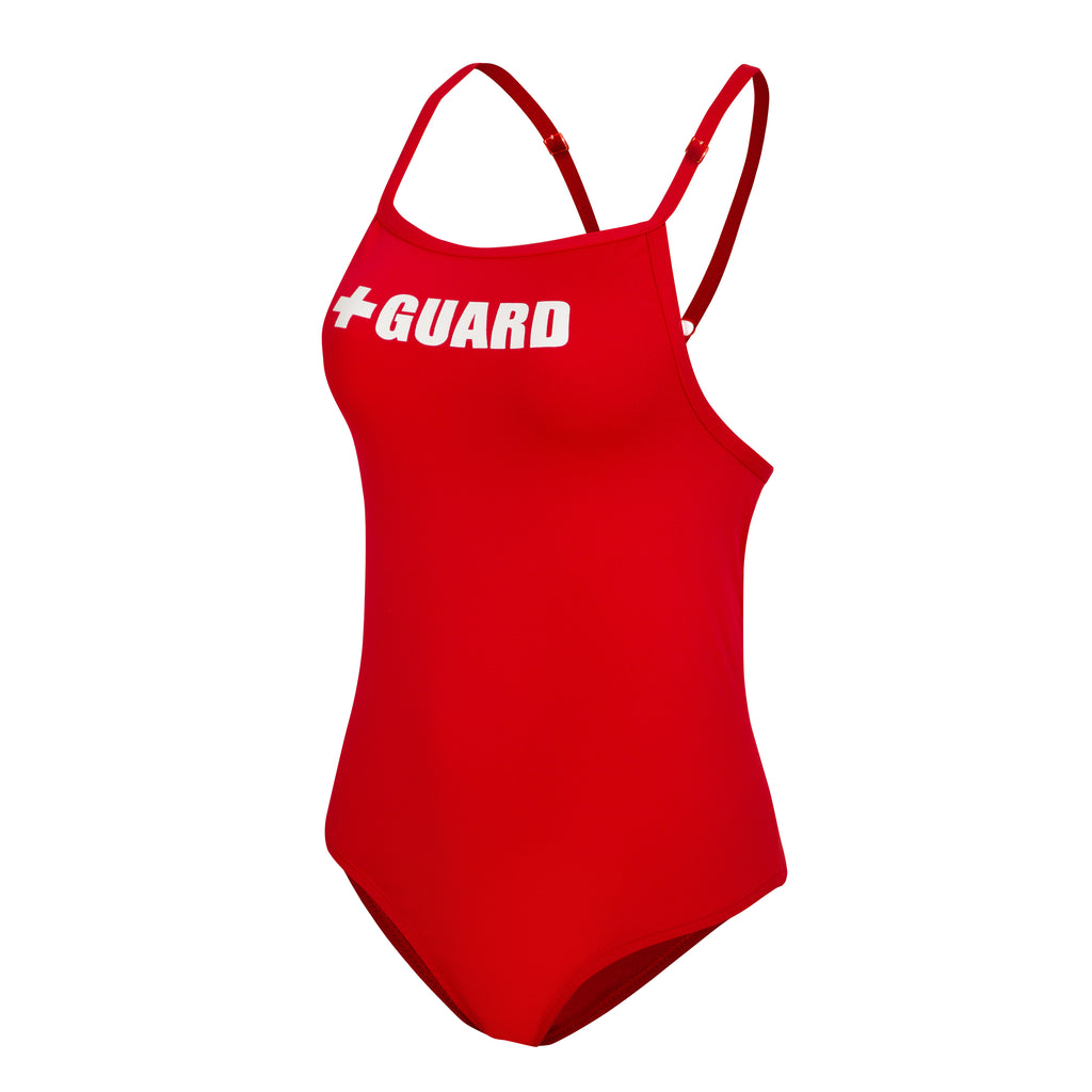 Lifeguard Swimsuit With Adjustable Straps 1PC - BLARIX