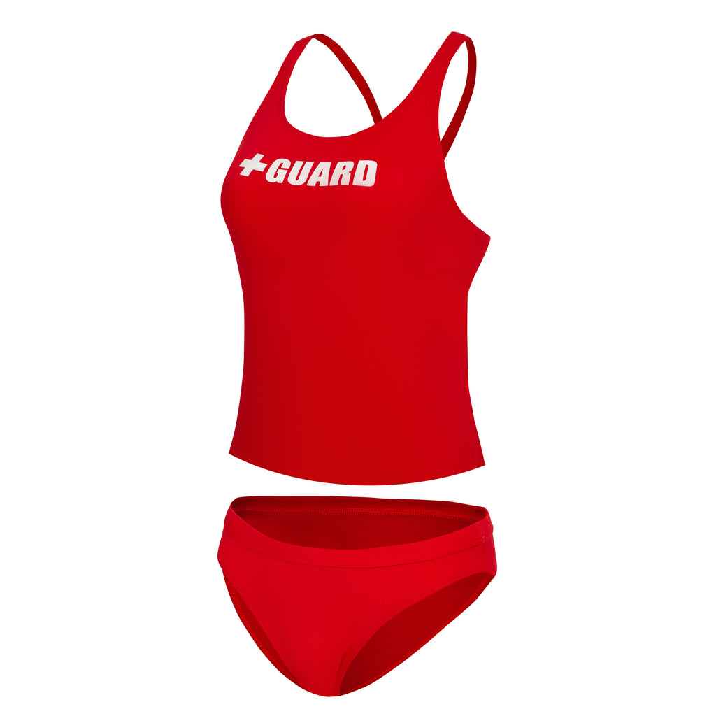 Lifeguard Tankini Swimsuit 2PC - BLARIX