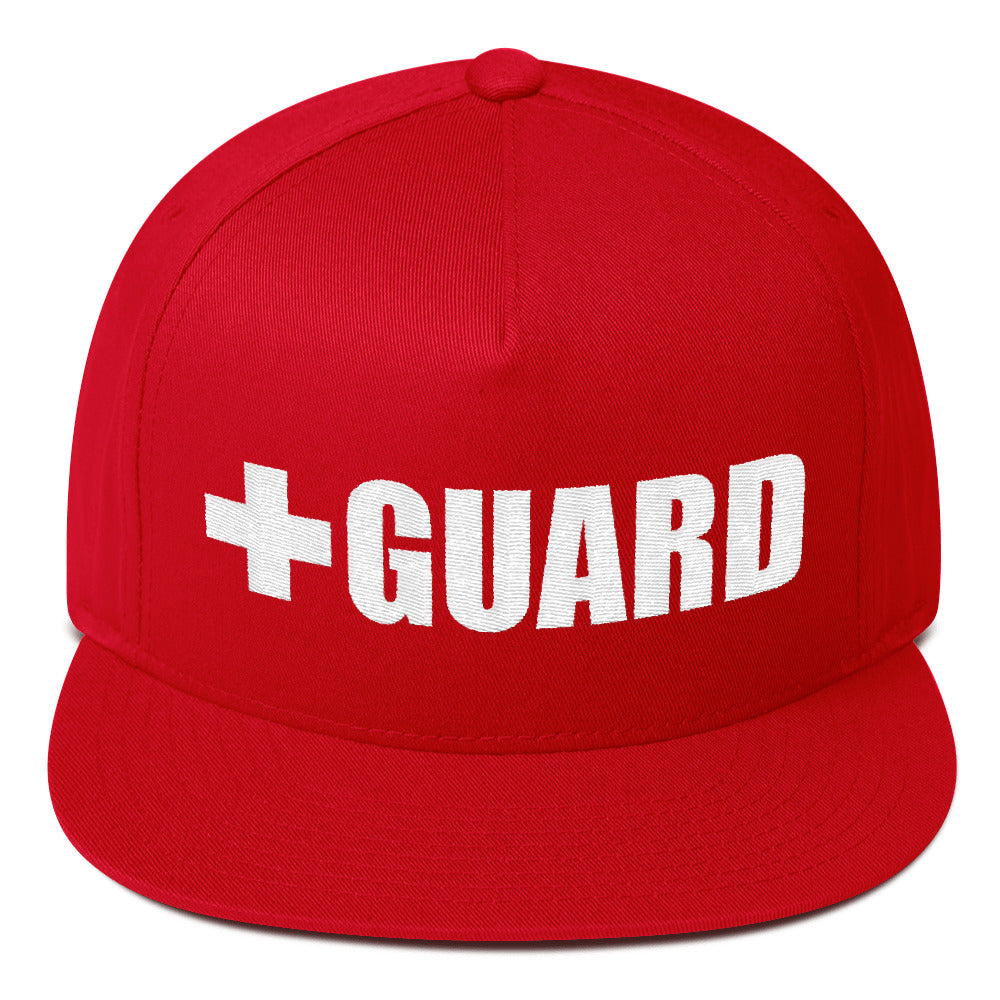 Lifeguard Flat Bill Cap - BLARIX