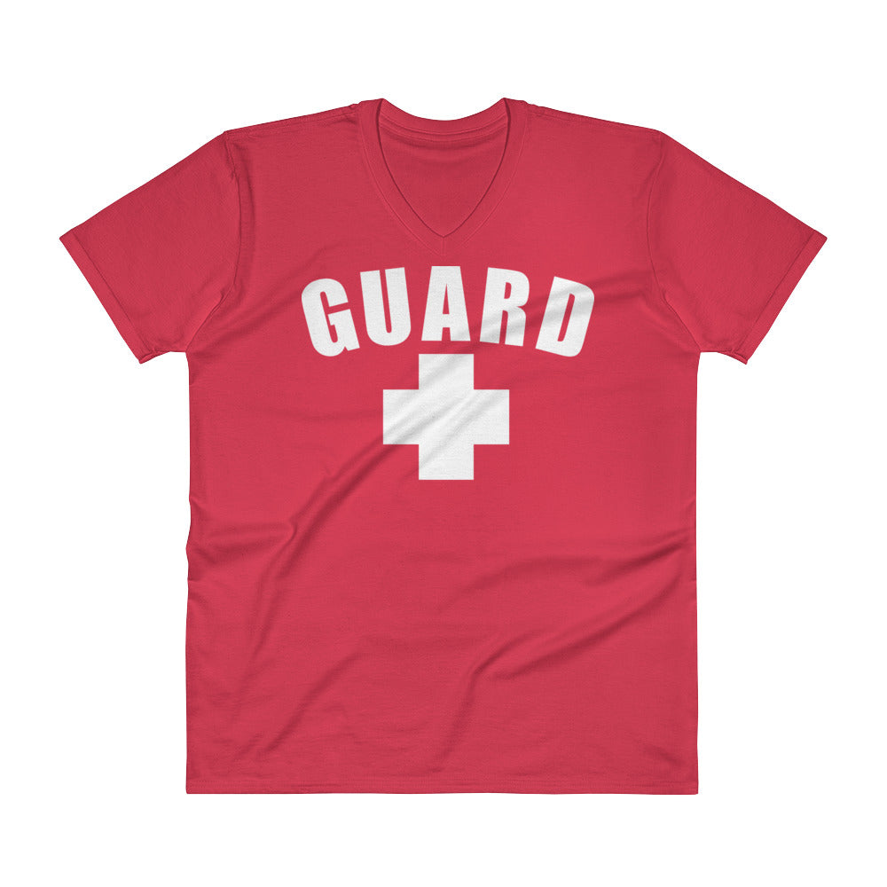 Lifeguard V-Neck T-Shirt - BLARIX