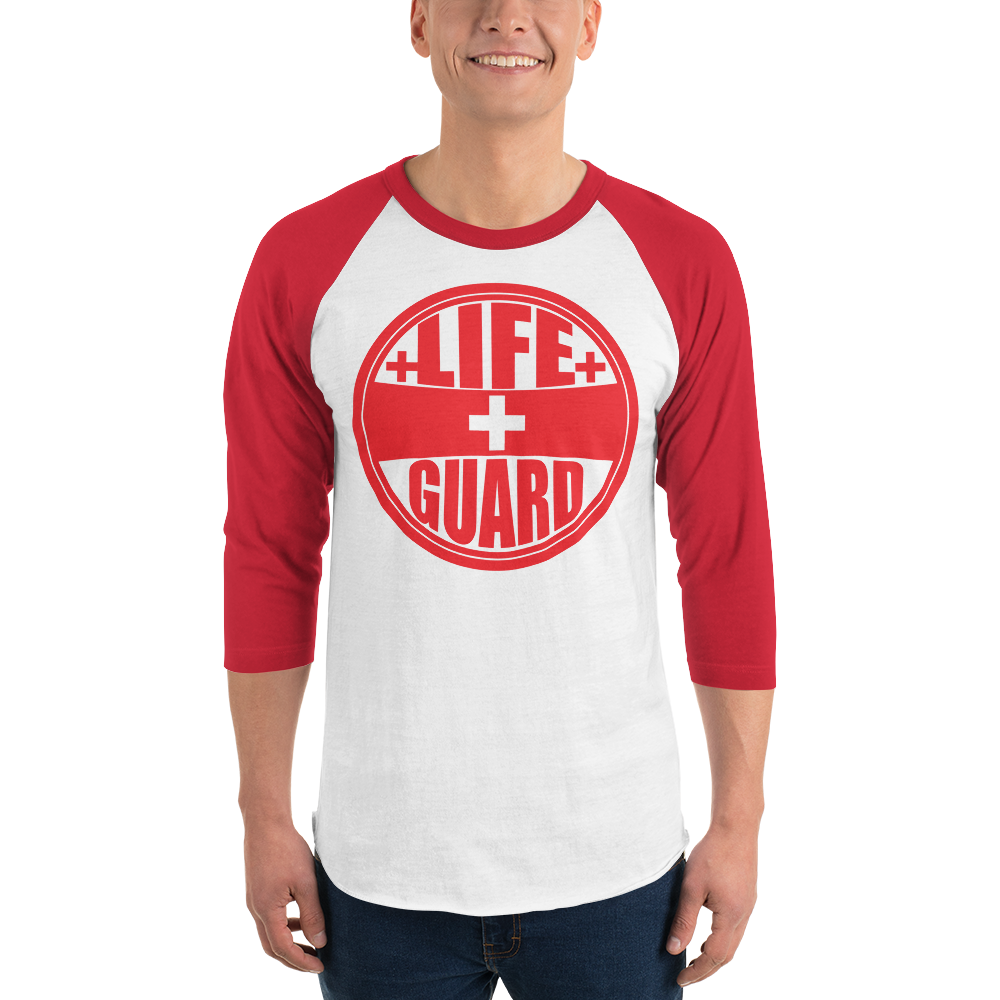 Lifeguard Casual 3/4 sleeve raglan shirt - BLARIX