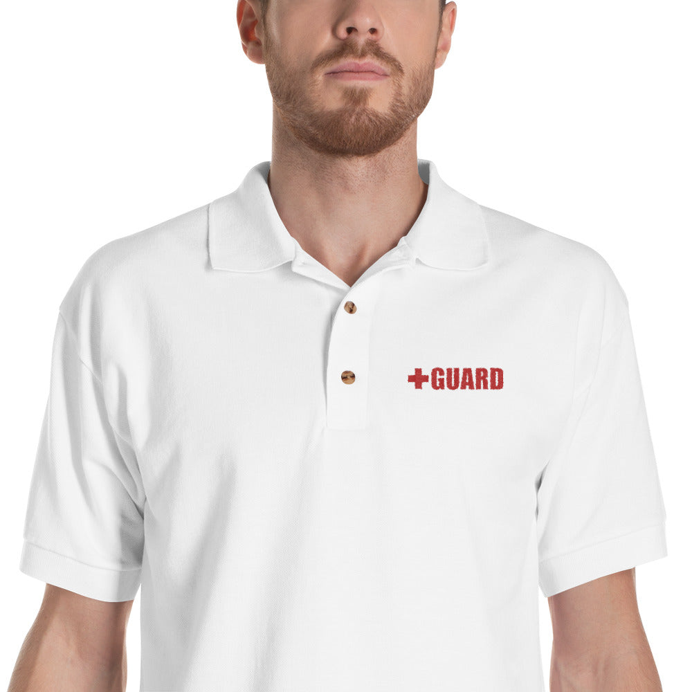 Lifeguard Embroidered Polo Shirt - BLARIX