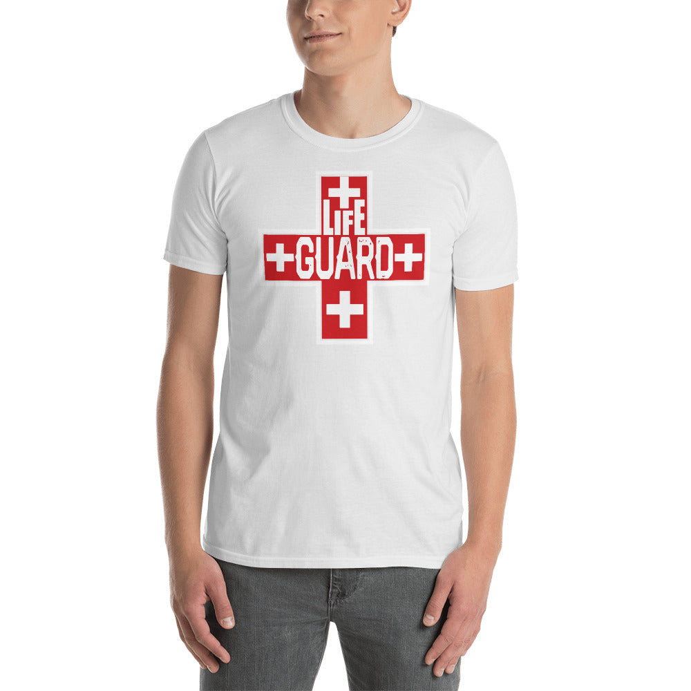 Lifeguard Cross Logo Unisex T-Shirt - BLARIX
