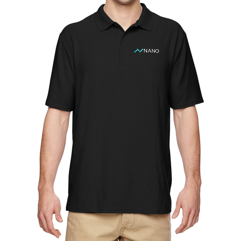 Nano Embroidered Polo