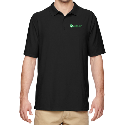 Vertcoin Embroidered Polo