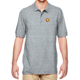 Bitcoin Embroidered Polo (Logo Only)