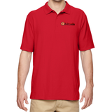 Bitcoin Embroidered Polo