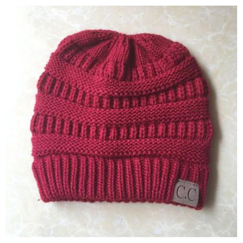 Knitted Ponytail Hat - icu-sexy